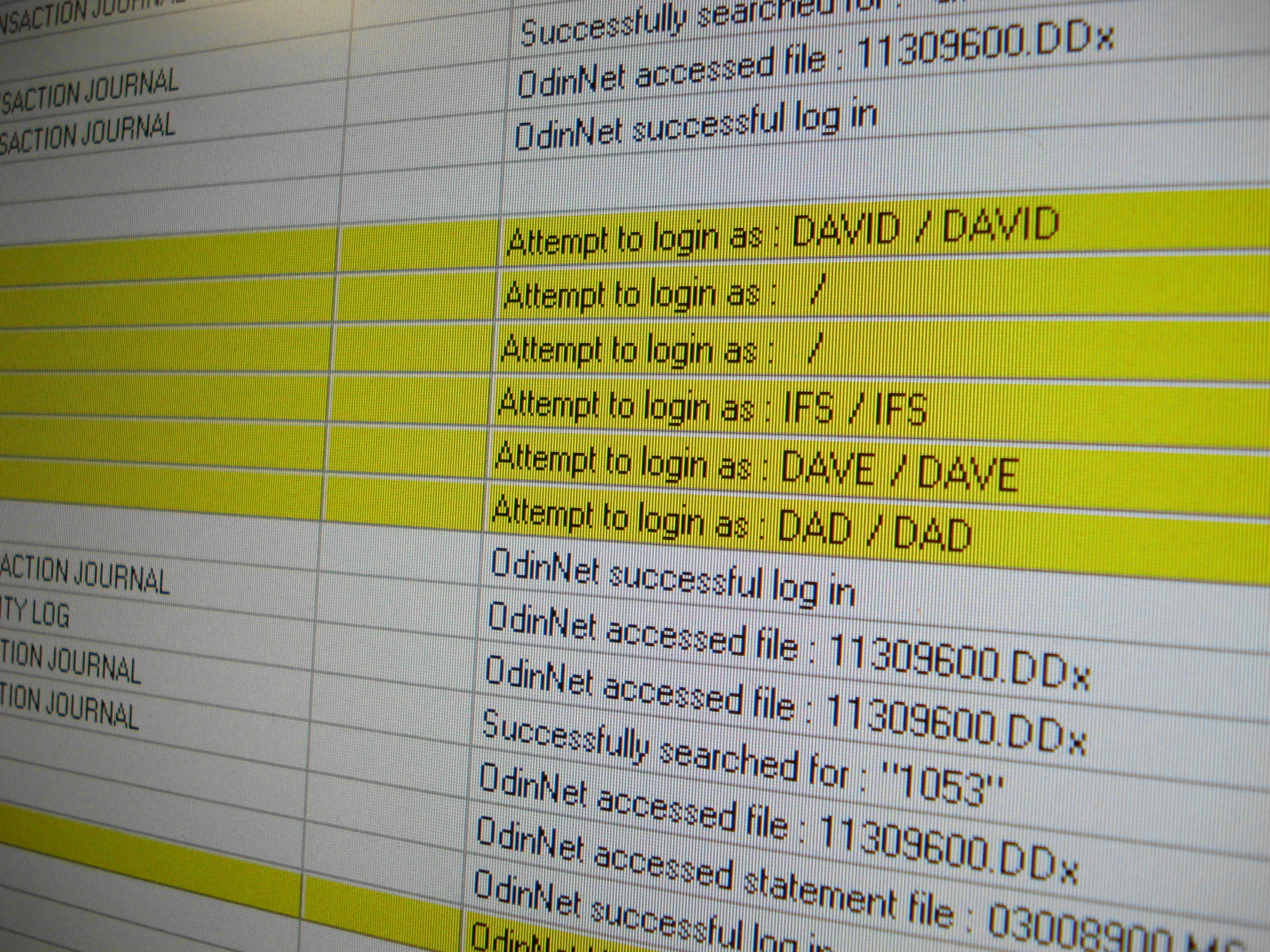 OdinSQL Audit Logs